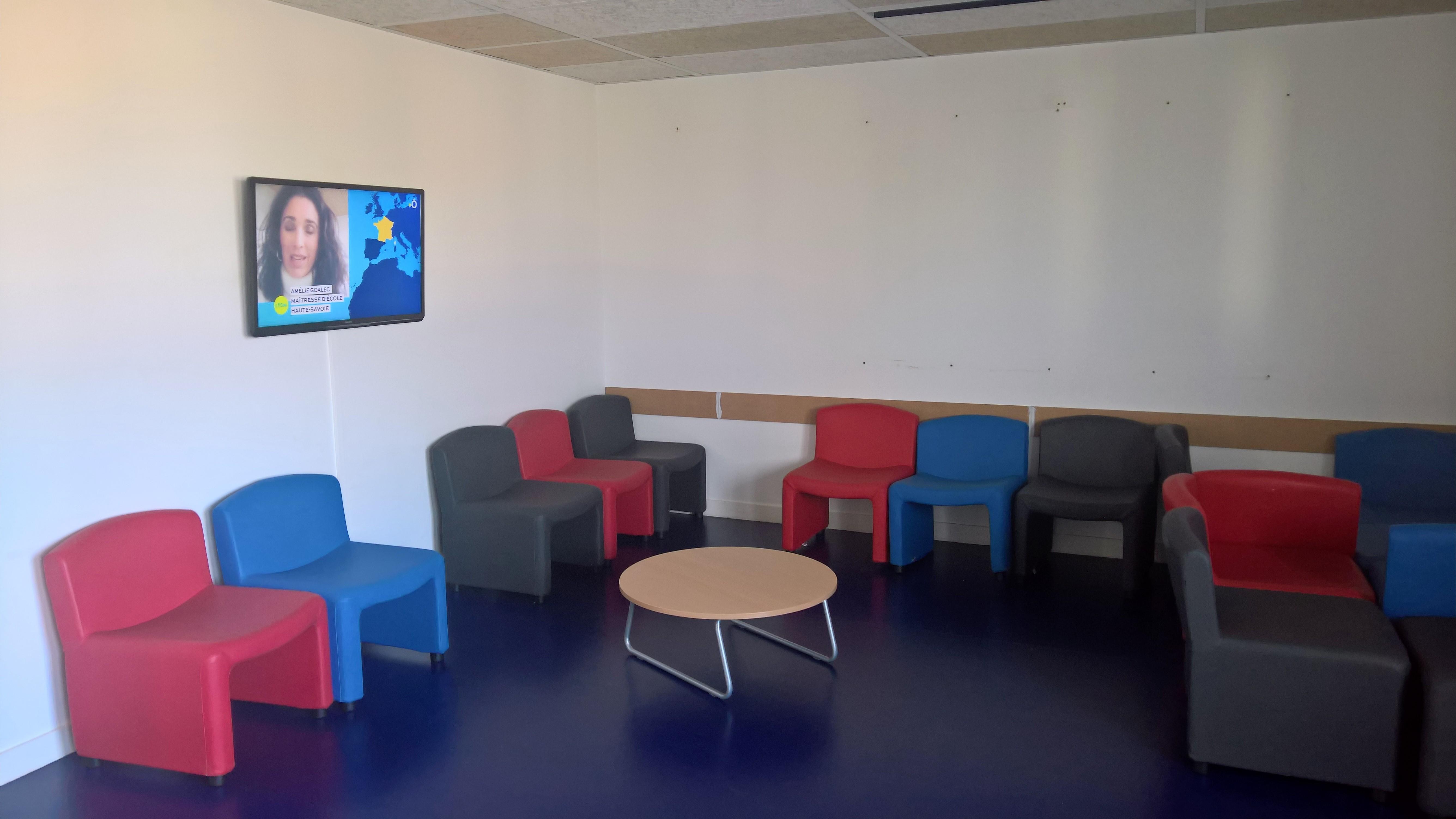 Salle Tv internat