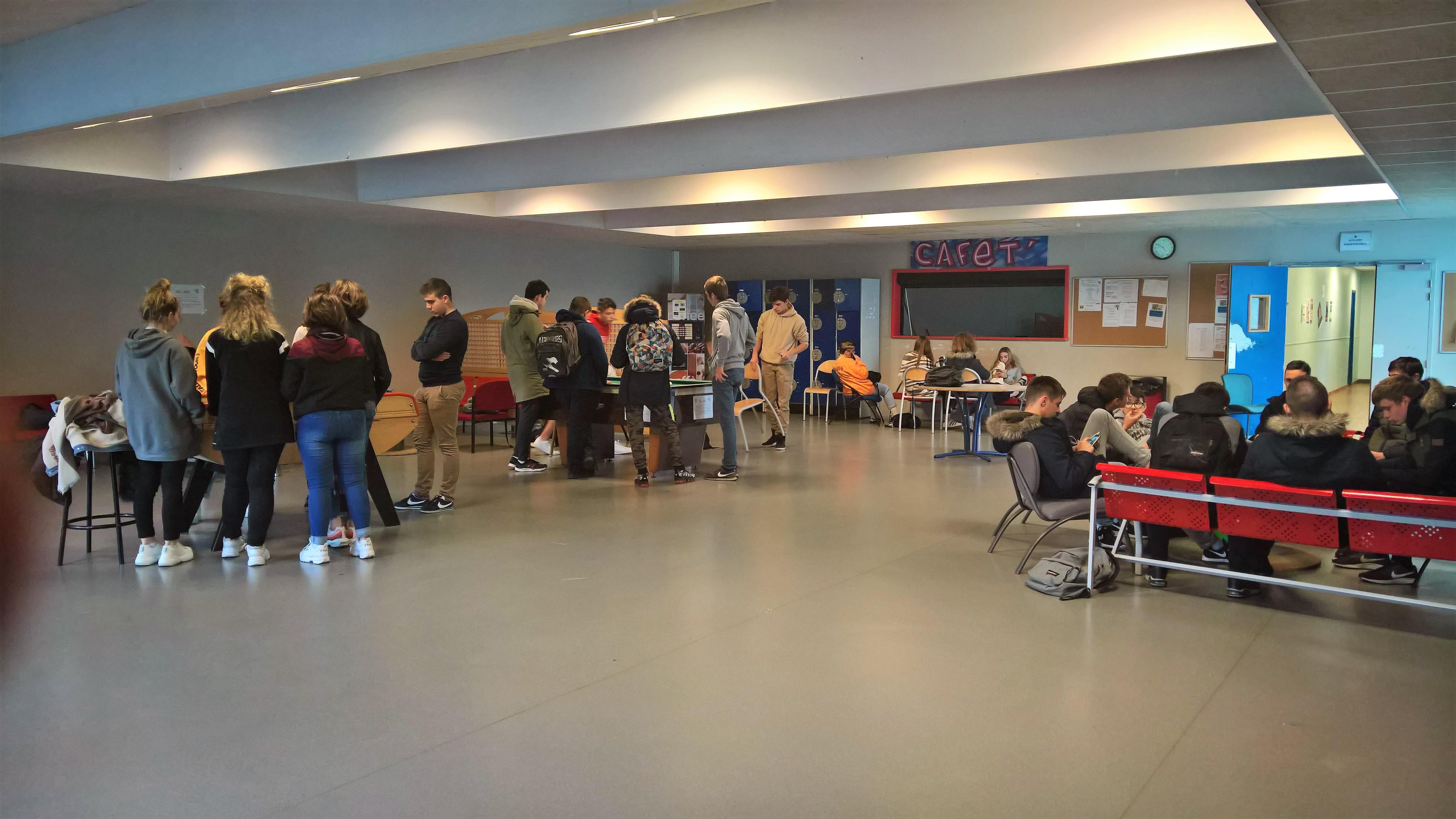 Hall du Foyer des élèves